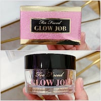 PRICE IS FIRM, PICKUP ONLY - Too Faced Glow Job Face Mask - BNIB- Toronto, M4B 2T2