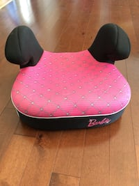 2 Identical Babys Pink And Black Barbie Booster Seats