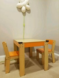 P kolino Toddler's table and chair set Falls Church, 22042