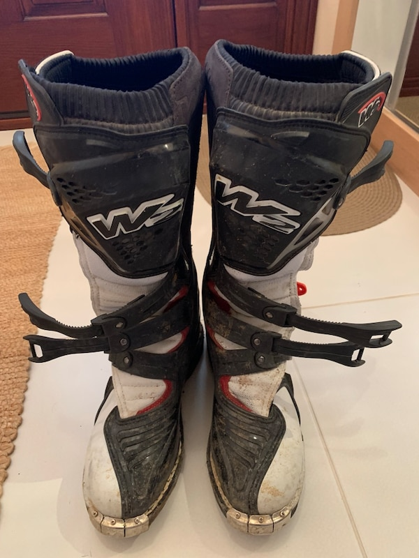 W2 Motocross Boots 0