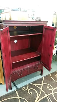 brown wooden cabinet with drawer Albuquerque