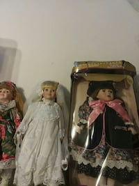 5 China dolls, as new excellent condition Williston, 05495