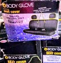 Body Glove Black seat covers