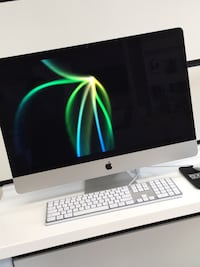 silver iMac with Apple Magic Keyboard Gaithersburg, 20877
