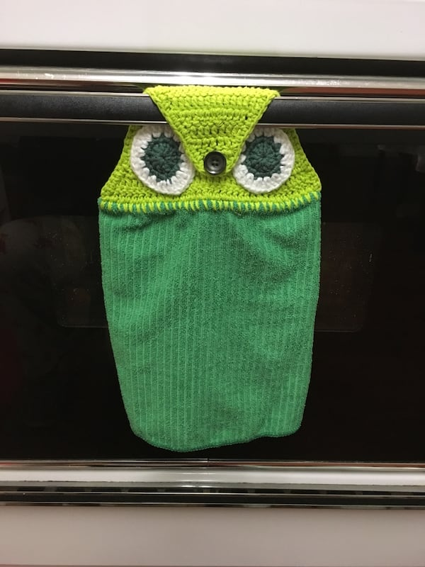 Kitchen towel - owl  design 2