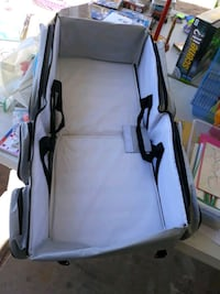 Changing Table/Baby Carrier Diaper Bag