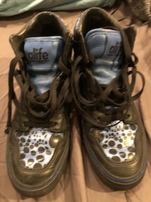 ALIFE men's high top leather shoes sz 10.5 US