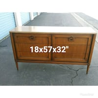 brown wooden mid century with 6 drawer  Lynwood, 90262