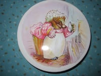 Vintage Beatrix Potter Mrs. Tiggywinkle English Round Tin Winnipeg