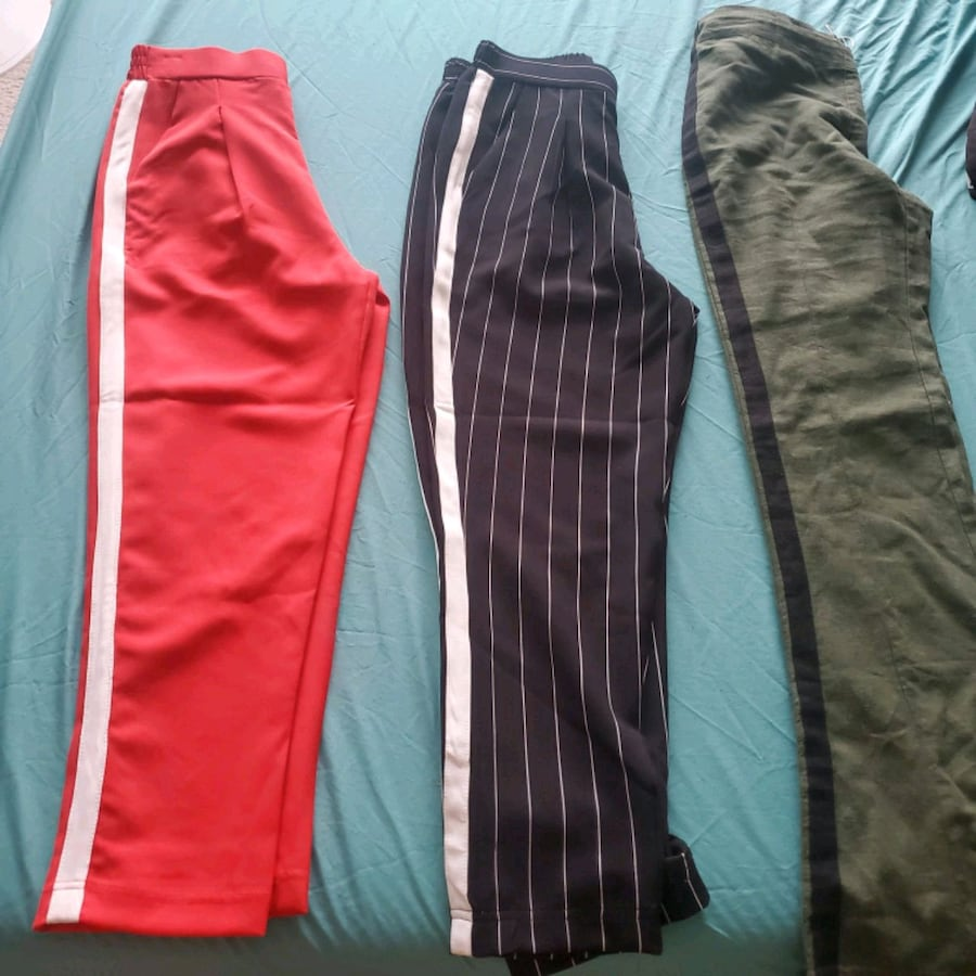 Dress pants Size XS, S and M. $25 for the 3. New tag on