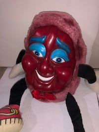 California Raisin Rubber Face Collectible
