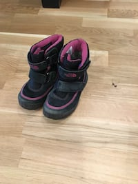 svart-lila The North Face boots Solna, 170 76