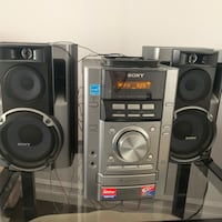 Sony stereo system Mississauga