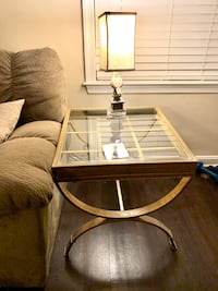 Glass Top Side / End Tables (2)  Fairfax, 22033