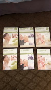 Three Ayurveda Yoga DVD with health guide Wildomar, 92595