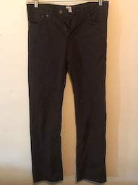 Dockers Pants Brown Straight Fit 30x32 Bristow, 20136