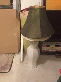 brown and white table lamp Greenbelt, 20770