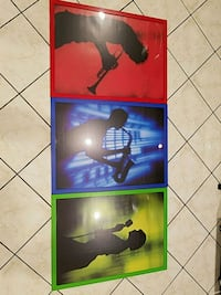 3 piece wall art Vancouver, V5M 4T5