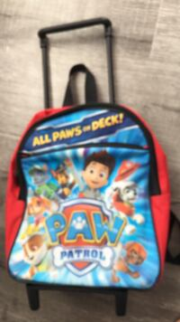red and blue PAW Patrol trolley bag Pasco, 99301