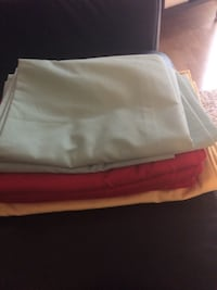 STANDARD PILLOW CASE,SMOKE FREE HOME,NO PETS,TWO YELLOW.THREE RED,TWO   LIGHT GREEN,ALL FOR $20