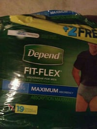 Adult incontinence  disposible  briefs  pull ups fit Flex...