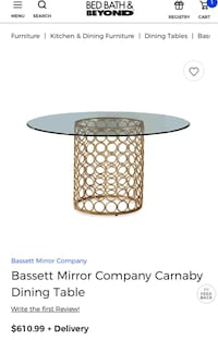 Basset Mirror Company Carnaby Dining Table