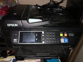 All in one  Epson WF wireless printer