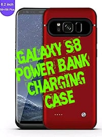 Galaxy S8 Power Bank Charging Case