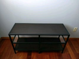 Metal frame table or TV stand