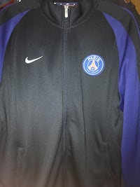 Schwarze nike zip-up jacke Psg Original GE, 45889
