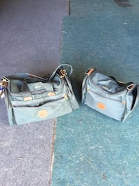Two matching Samsonite duffel bags one large one medium in great condition Los Angeles, 91344
