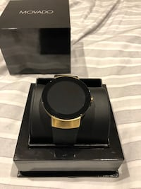 Movado Connect Smartwatch Gold/Black Watch Pickering