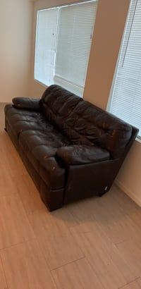 Two leather couch Phoenix, 85029