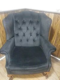 Black couch chair Oakville, L6H 2Z4