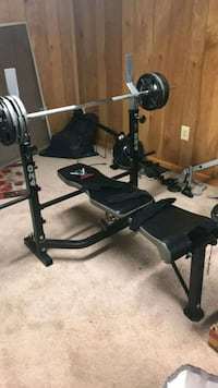 black and gray bench press Bowie, 20721