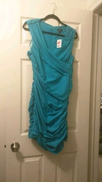 BNWT - Le Chateau Turquoise Fitted Dress (XL) Vaughan, L6A 1P7