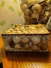 Shell Jewelry or Picture Box
