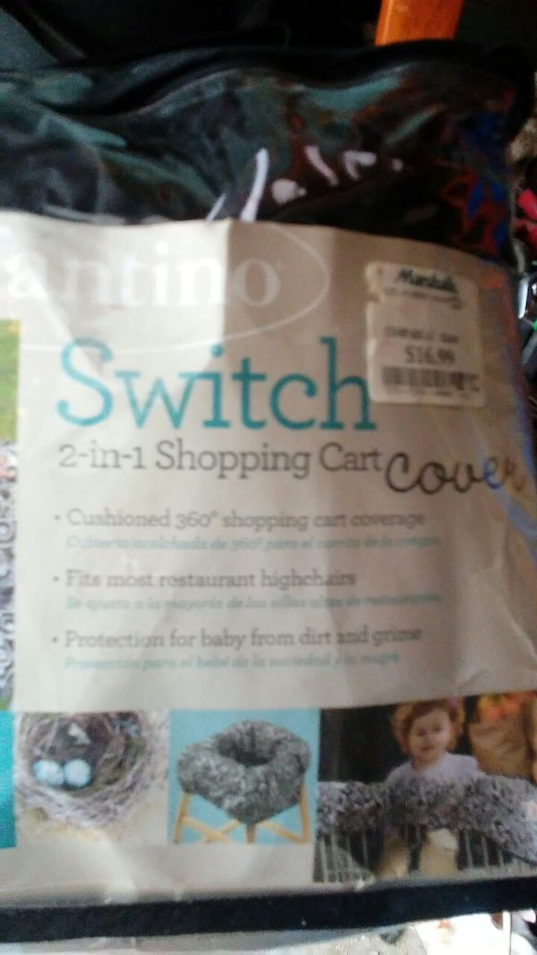 Infantino switch 2 in 1 shopping cart f03d50e7-7a13-4f52-a383-91af3d3f39d4