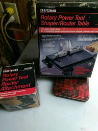 Dremel router table and router attachment Winton, 95388