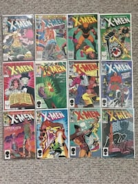 Uncanny X-Men Comic Books and related Titles Toronto, M8Z 2P7