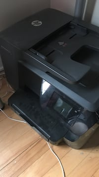 Black hp multi-function printer