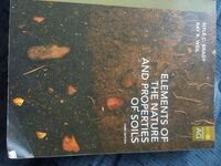 Elements of the Nature and Properties of Soils Fargo, 58103