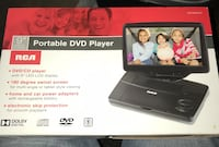 RCA portable DVD player /Led-LCD Alhambra, 91801