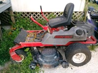 red and black ride on mower North Fort Myers, 33917