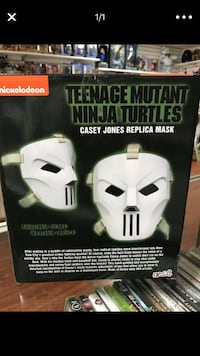 TMT, Casey Jones replica mask La Habra, 90631