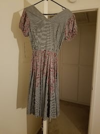 Vintage 1960s Western Fashions Colorado Dress null