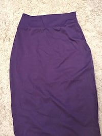Brand New Purple Long Skirt Burnaby