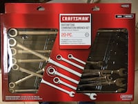 Craftsman 20pc ratcheting wrench set Antioch, 94509