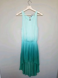 Teal Ombre High Low Dress  Toronto, M6G 1Z4