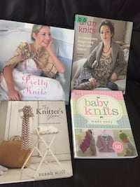 Yarn and knitting books all together for 20$ Innisfil, L9S 2K7